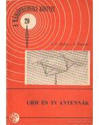 URH és TV antennák