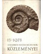 A Veszprém Megyei Múzeumok Közleményei 1978/13