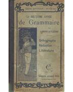 La Deuxiéme année de Grammaire