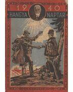 Hangya naptár 1940.