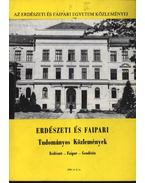 Erdészeti és Faipari Tudományos Közlemények 1986. év 2. sz.