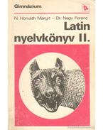 Latin nyelvkönyv a gimnázium II. osztálya számára (1980)