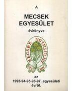 A Mecsek egyesület évkönyve 1993-94-95-96-97