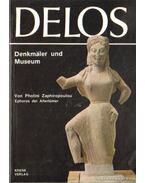 Delos Denkmäler und Museum (német nyelvű)