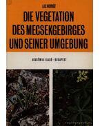 Die Vegetation des Mecsekgebirges und Seiner Umgebung