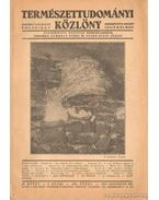 Természettudományi közlöny 1937. 8. szám
