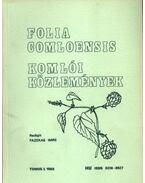 Komlói közlemények 1988. 3. - Fazekas Imre