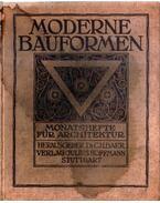 Moderne Bauformen XIII. Jahrgang - Zweites Halbjahr Juli-Dezember - Baer, C. H.