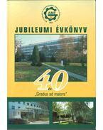 A Kecskeméti Főiskola 40 éves Gépipari és Automatizálási Műszaki Főiskolai karának jubileumi évkönyve - Bagány Mihály Dr.