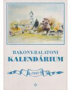 Bakony-balatoni kalendárium 1995
