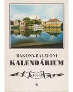 Bakony-balatoni kalendárium 1996