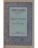 Szent István - Balanyi György