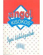 Angol kisokos - Igei táblázatok - Balázs István