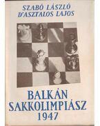 Balkán Sakkolimpiász 1947