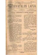 Biharvármegye hivtalos lapja 1906. (teljes) - Balogh János