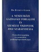 A nemzetközi gazdasági forgalom és személyi viszonyok jogi szabályozása - Bánrévy Gábor