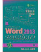 Word 2013 zsebkönyv - Bártfai Barnabás