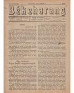 Békeharang-Szent Harc 1922-23. XIII-XIV. évf. (aláírt)