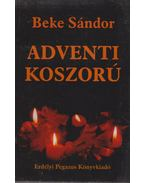 Adventi koszorú - Beke Sándor