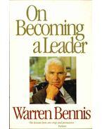 On Becoming a Leader - Bennis, Warren