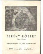 Berény Róbert emlékkiállítása