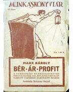 Bér-Ár-Profit