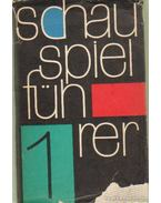 Schauspielführer I-III. - Berger, Karl Heinz, Böttcher, Kurt, Hoffmann, Ludwig, Naumann, Manfred