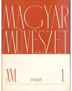 Magyar művészet 1949 XVI. évf. (teljes) - Bernáth Aurél