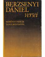 Berzsenyi Dániel versei - Berzsenyi Dániel