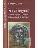 Római magánjog - Bessenyő András