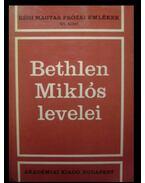 Bethlen Miklós levelei I-II.