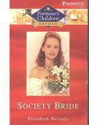 Society Bride - Bevarly, Elizabeth