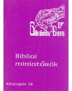Bibliai miniatűrök