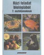 Házi feladat biológiából 7. osztályosoknak