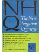 The New Hungarian Quarterly 53 - Spring 1974 - Boldizsár Iván
