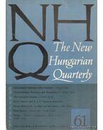 The New Hungarian Quarterly 61 - Spring 1976 - Boldizsár Iván