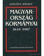Magyarország kormányai 1848-1987 - Bölöny József