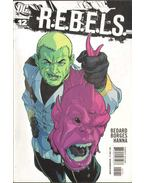 R.E.B.E.L.S. 12 - Borges, Geraldo, Tony Bedard