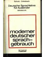 Moderner deutscher sprachgebrauch