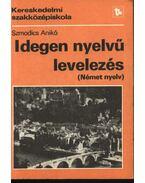 Idegen nyelvű levelezés (német nyelv)