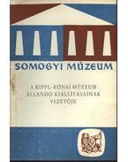 A Rippl-Rónai múzeum állandó kiállításának vezetője