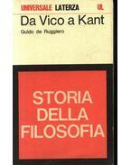 Da Vico a Kant