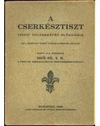 A cserkésztiszt - Pesti Szent Imre-Kollégium Öregcserkész-Csapata 90/Ő  SZ. I. K.