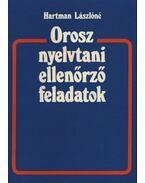 Orosz nyelvtani ellenőrző feladatok