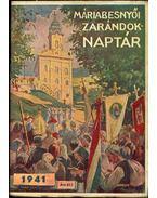 Máriabesnyói zarándok naptár 1941