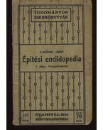 Épitési enciklopédia II-III-IV