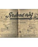 Szabad száj II. évf. 9. szám, 1947. március 1.