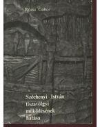 Széchenyi István tiszavölgyi működésének hatása
