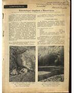 Hidrobiológiai vizsgálatok a Hámori-tavon
