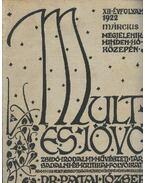 Múlt és jövő XII. évf. 1922. március